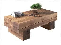"""Résultat de recherche d'images pour """"table basse poutre chene"""""""