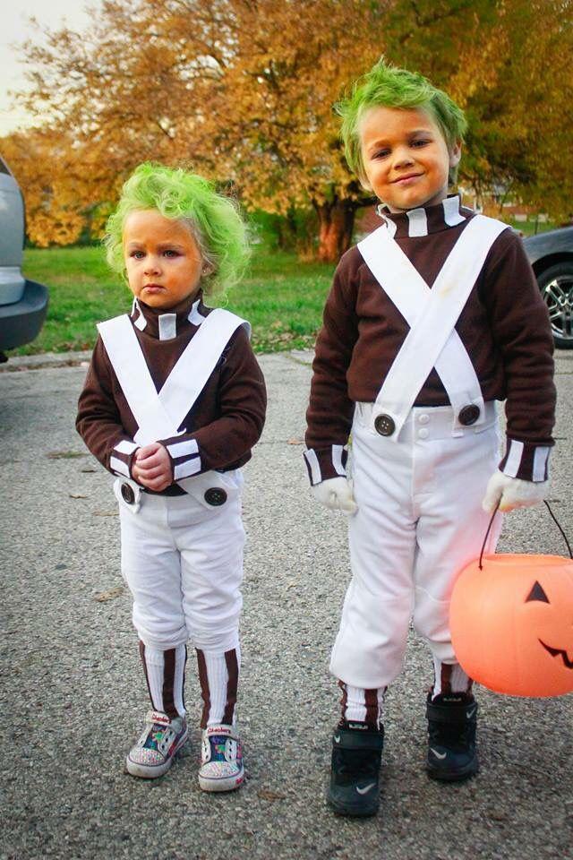 Sibling Matching Halloween Costumes