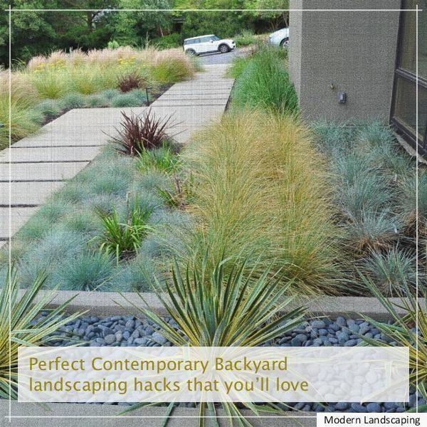 modern Landscaping Design, modern Landscape Plans, modern