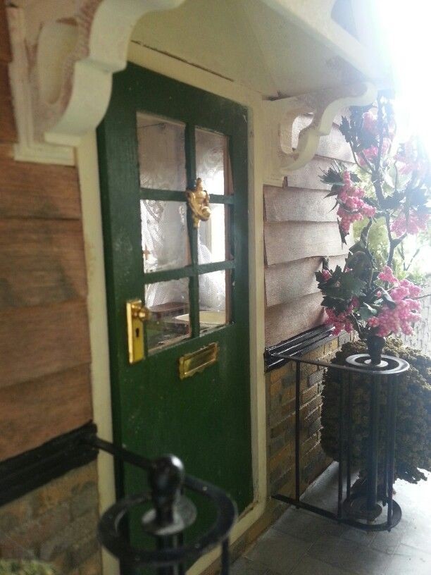 Farm house front door