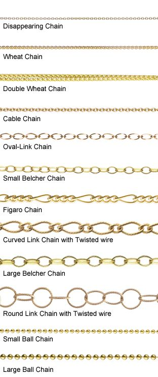 18K Yellow Gold Chain Reference