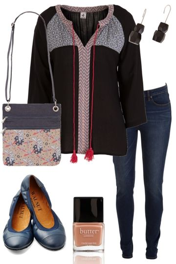 Girl Next Door Outfit includes Butter London, Walnut, and JAG - Birdsnest Online Clothing Store