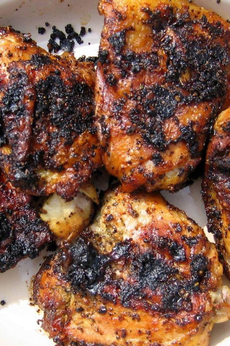Thai Grilled Chicken Thighs