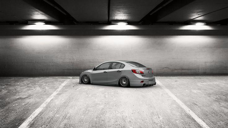 Checkout my tuning #Mazda 3 2009 at 3DTuning #3dtuning #tuning