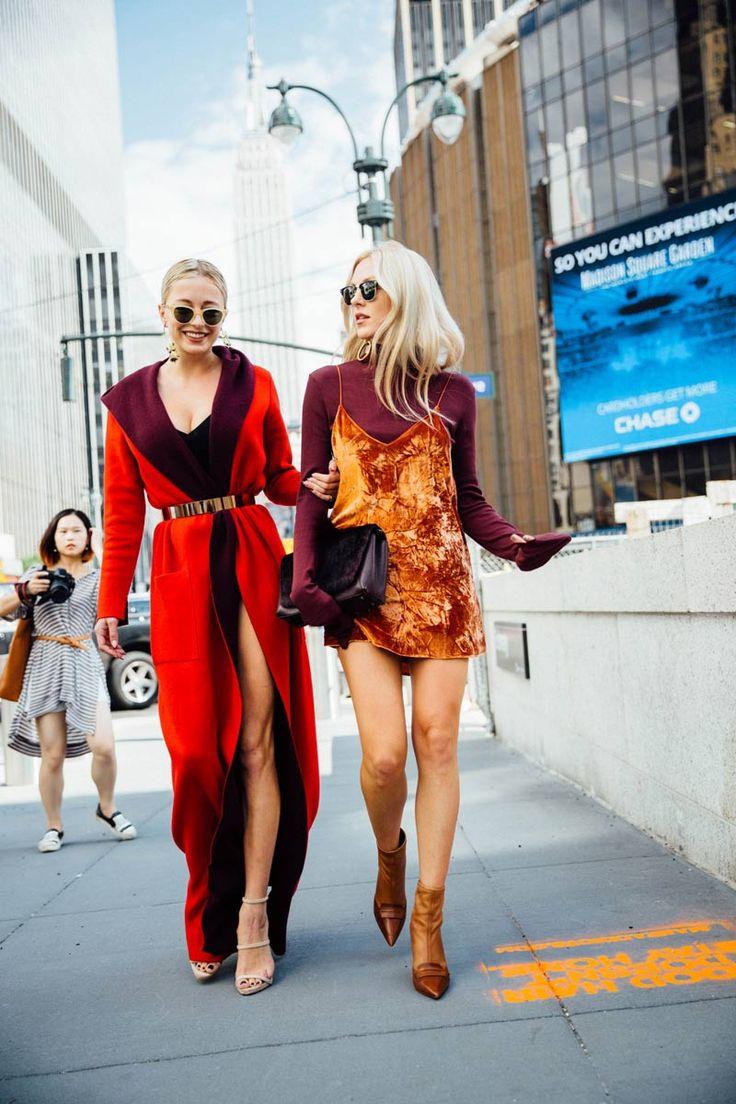 ❤ #street #fashion #snap from New York Fashion Week.