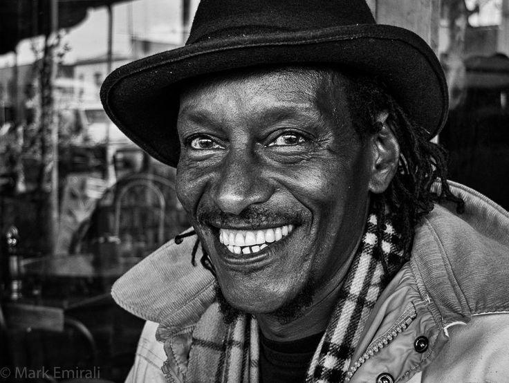 Happy Days - street portrait in Ponsonby - Fujifilm X20 1/75sec | f2.2 | ISO100 by Mark Emirali