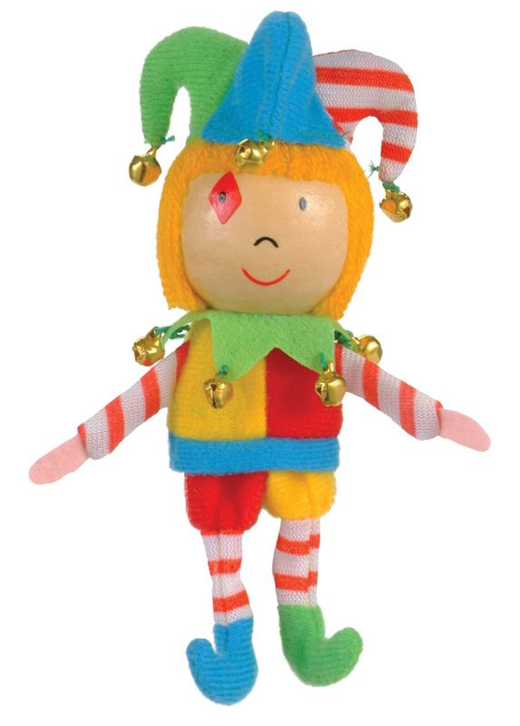 Fiesta Crafts Finger Puppets- Jester. Have fun playing the fool with these cute Jester finger puppets that'll make story telling and pretend play tons of fun!! via limetreekids.com.au