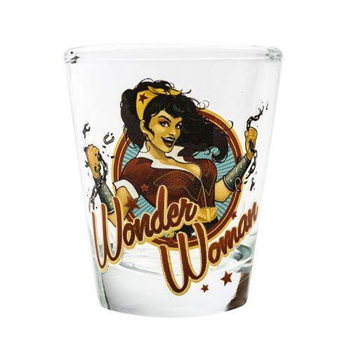 Internet das Coisas!!!: DC Bombshells Wonder Woman Shot Glass