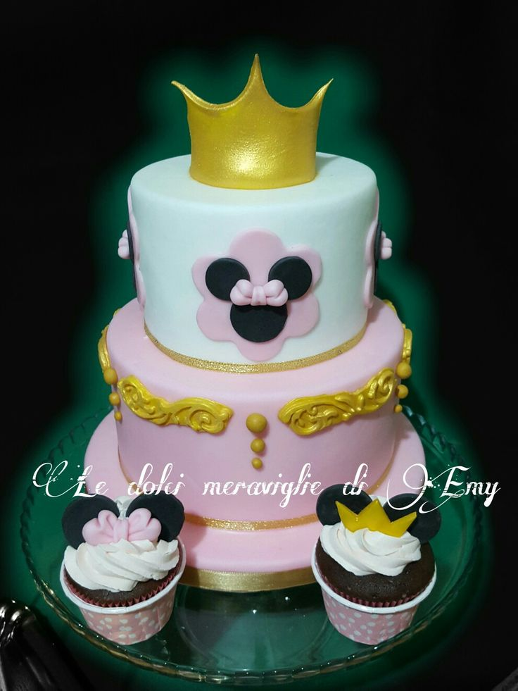 Princess Minnie disney cake