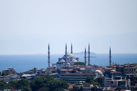 Turkey, Istanbul, Bosporus, nice summer day