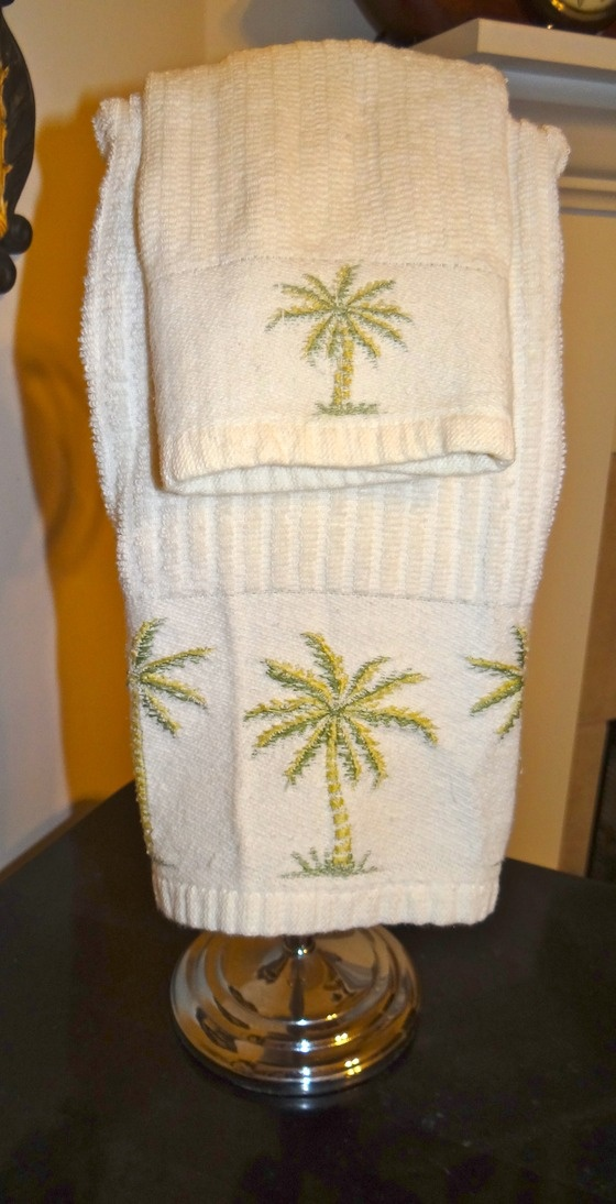 17 Best Images About Palm Tree Shower Curtain And Bath