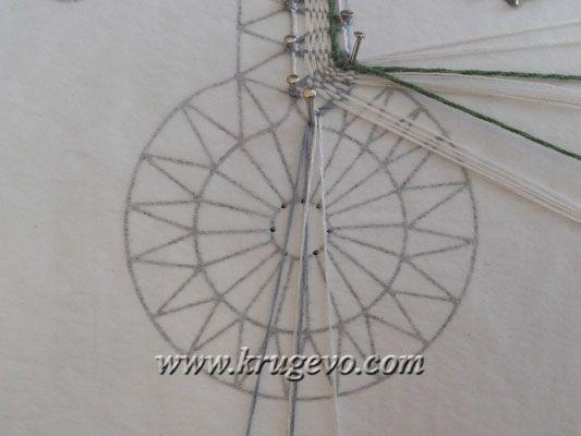 Плетение Одуванчика. Шаг 2