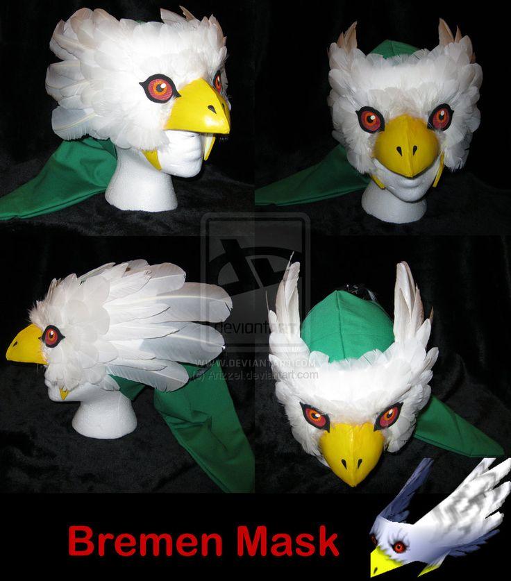 Bremen Mask from Legend of Zelda Majora's Mask