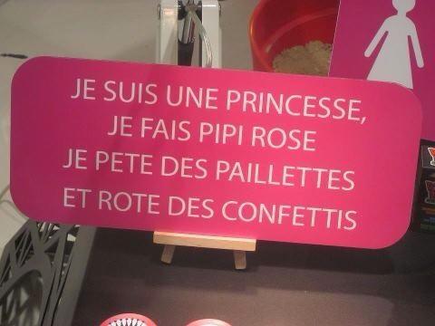 parce qu'on est toutes des princesses!
