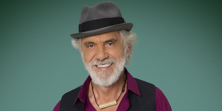 Tommy Chong a contestant on ABC Dancing With the Stars tonight. He's a mean salsa dancer.