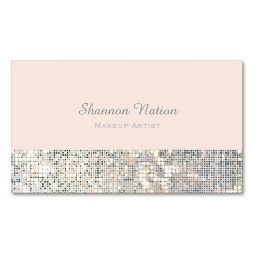1210 Best Glitter Sparkle Business Cards Images On Pinterest