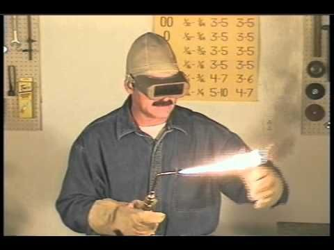 Oxy Acetylene Welding | Gas Welding | Adjusting The Flame