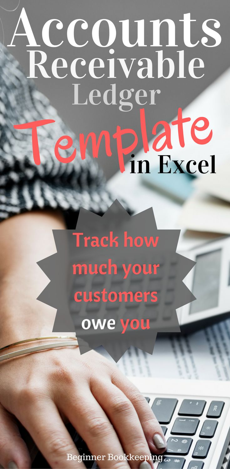 Accounts receivable template in microsoft excel. Use this ledger to track how much the customers of your small business owe you.