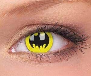 Batman contact lenses