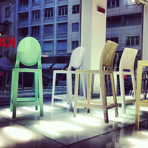One More & One More Please by Philippe Starck at Kartell flagship store Milan
