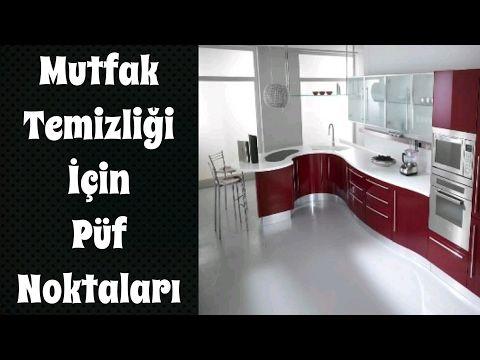 Mutfak Temizliği İçin Püf Noktaları - YouTube