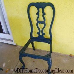 dining chair-painting