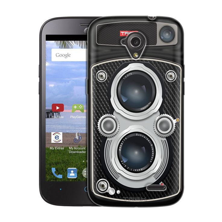 ZTE AllStar Black Twin Reflex Camera Slim Case