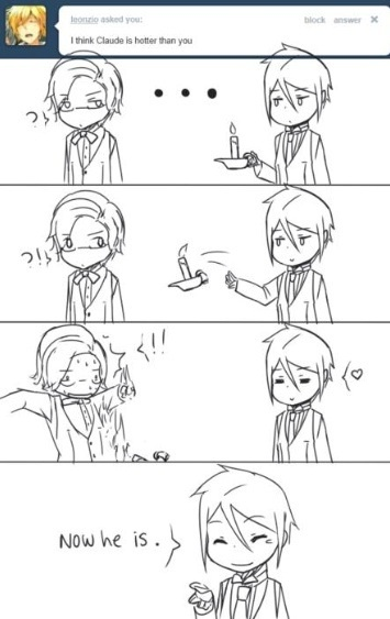 Oh Sebastian. :) #Black Butler