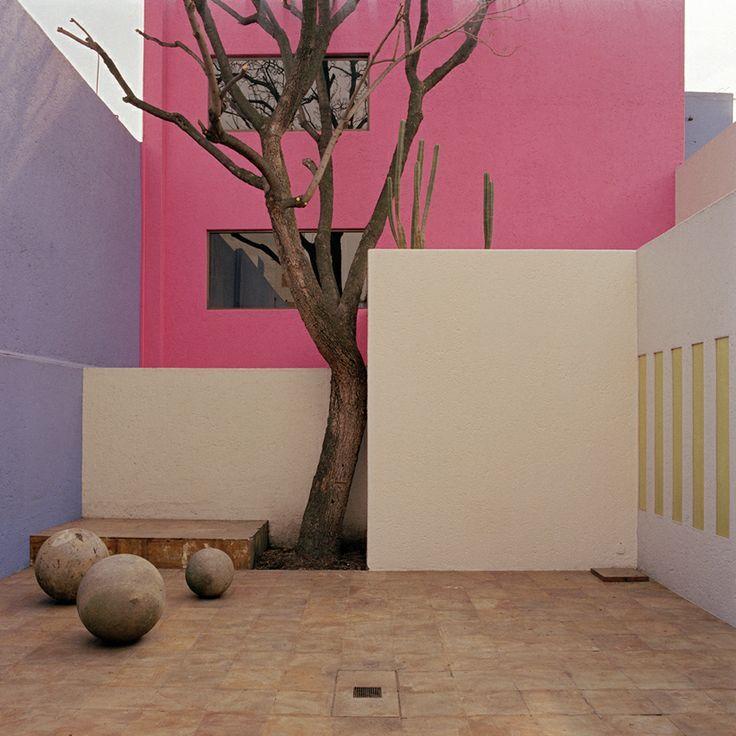 Casa Gilardi (Gilardi House) by Luis Barragan, 1976, Tacubaya, Distrito Federal, Mexico.