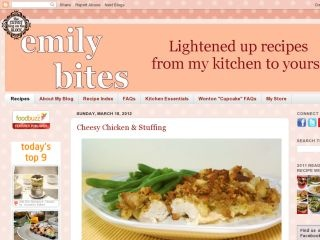 Please Help & Vote For Me! I was just nominated as a late entry to Fitness Magazine's Blog Awards in the Best Healthy Eating Blog Category!! I'm really excited, but all the other blogs have been getting votes for weeks, so I am also really behind! Please take a moment to follow this link and vote for emilybites.com. I'd so appreciate it!