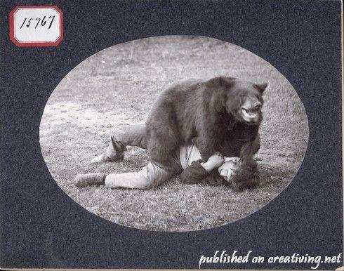 Креативные ретро фотографии. Странные люди из прошлого
