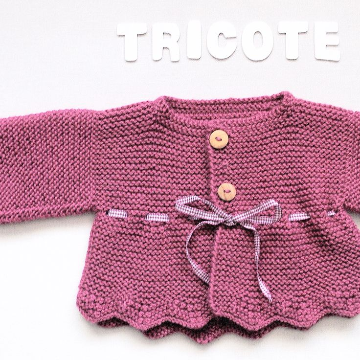 Beautiful baby jacket designed and knitted by I Love Tricoté  ❤️ Knitting Pattern coming soon ❤️  For mor info visit our web page www.ilovetricote.com    Chaquetita diseñada y tejida por I Love Tricoté #ilovetricote #babyknits #knittingkits