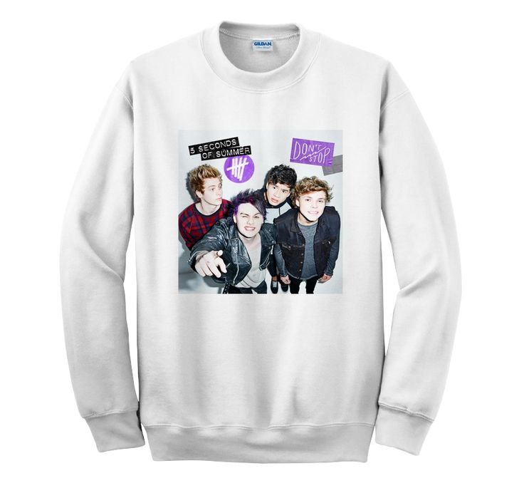 5SOS DONT STOP Cover Album – Sweater