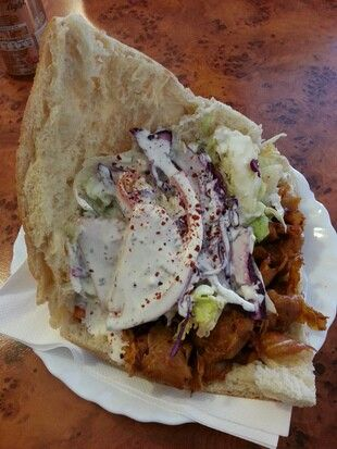 Doner kebab there is a place down the street that has the best diners.