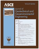 Journal of Geotechnical and Geoenvironmental Engineering