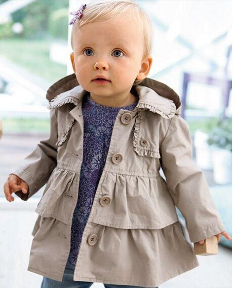 Wholesale Product Snapshot Product name is Sy0110 бесплатная доставка 2014 новый новорожденных девочек пальто девушки мода малыш и пиджаки дети плащ толстовки дети куртка Высокое качество в розницу