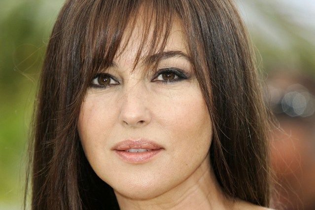"""Monica Bellucci on her travels --  Do you have a pre-flight ritual? """"Drinking water is so important to keep skin looking clear. Usually I apply moisturiser, something simple and light such as Dr Hauschka, and a serum."""""""