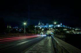 Prague Castle during the Signal Festival of Light