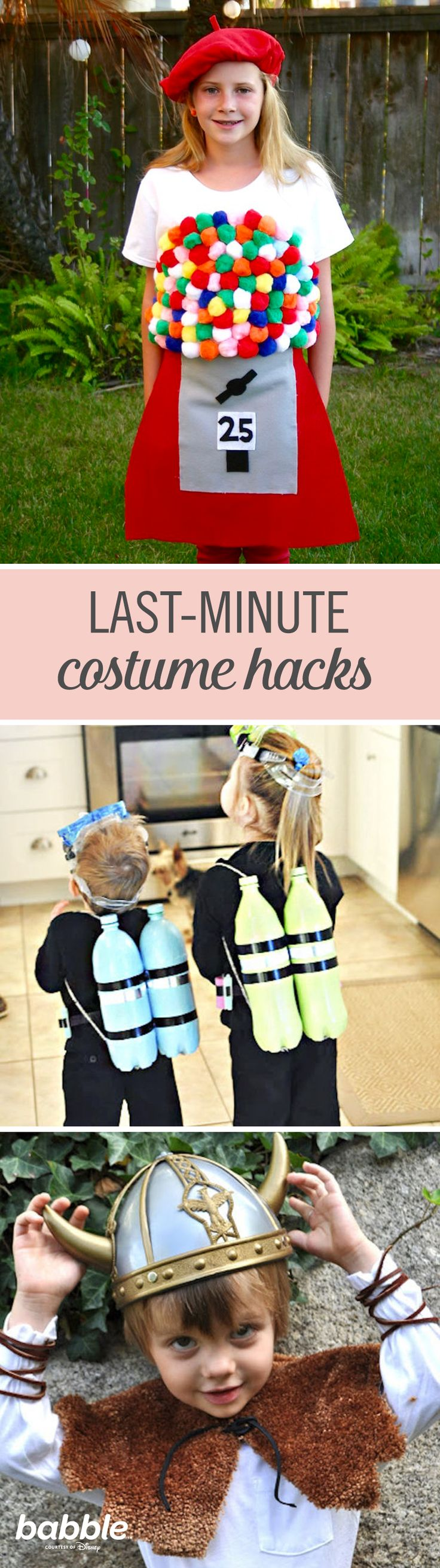 Halloween is a great way to kickoff the holiday season. The most crucial part to having a successful Halloween is the costumes. These DIY Halloween costume hacks will make even last-minute costumes seem like they were slaved over for hours.