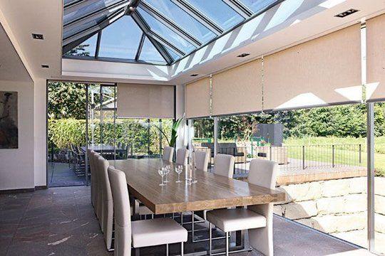 17 best images about v randas et extensions on pinterest veranda magazine industrial and window - Veranda extension maison ...