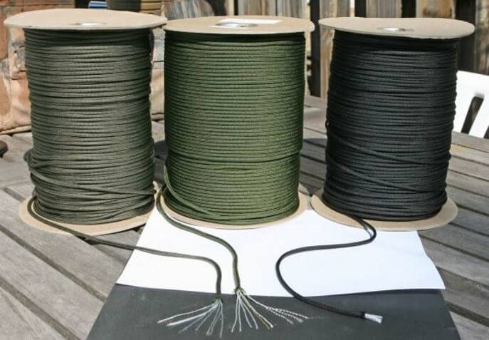 Is your paracord mil-spec, or a cheap china knockoff? Paracord, short for parachute cord, is a survivalist's bread and butter. It has a million and one uses,