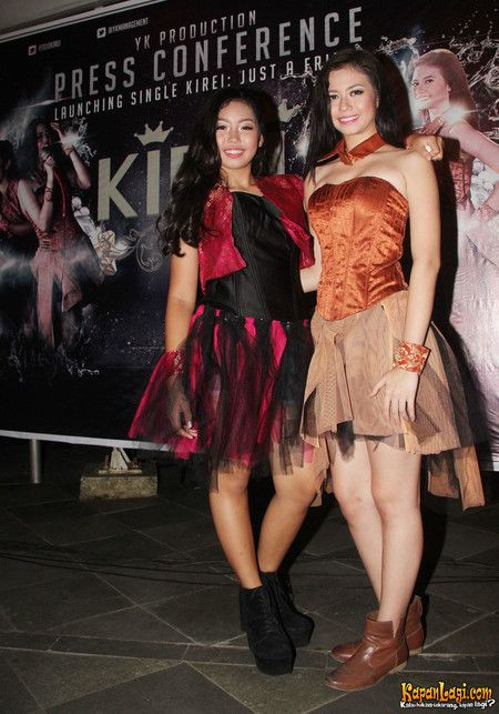 Yuki Kato - Reina launching album Duo Kirei