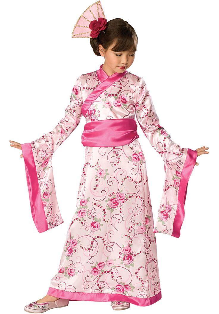 Costume da Principessa asiatica, per bambina | Costumi Fantasy per Bambini | Escapade®