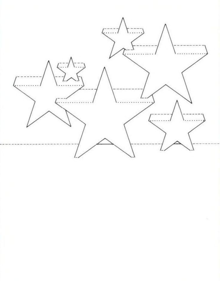 Открытка киригами распечатать