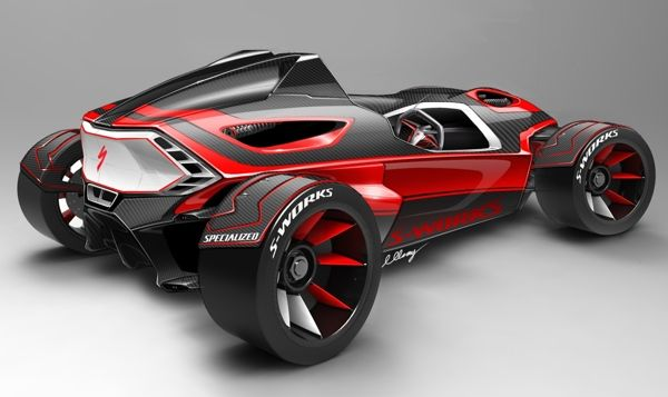 Specialized MR Roadster by Michael Gray, via Behance