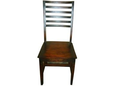 Global Imports, BAN8035, at Exotic Home Ladder Back Dining Chair.