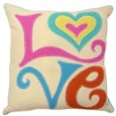 Jan Constantine hand embroidered cushion, £79.50 - love it!