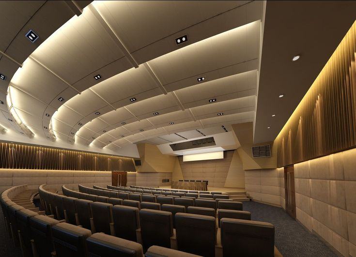 Lecture hall pinterest for Room 68 design