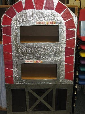 Pizza Parlor Dramatic Play ... amazing play space for preschool!