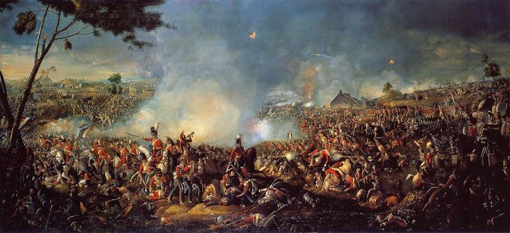 The Battle of Waterloo marked the end of the Napoleonic Wars and the start of Pax Britannica.